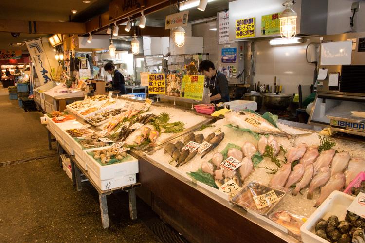 山田屋 鮮魚コーナー